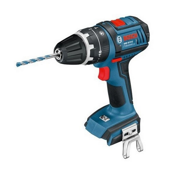 BOSCH GSB18V-LIN 18V COMBI HAMMER DRILL (BODY ONLY)