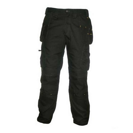 DEWALT DWC23-001 HOLSTER POCKET TROUSERS BLACK (31 INCH LEG)