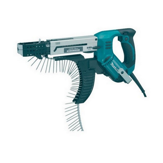 MAKITA 6844 75mm AUTO-FEED SCREWDRIVER 240V