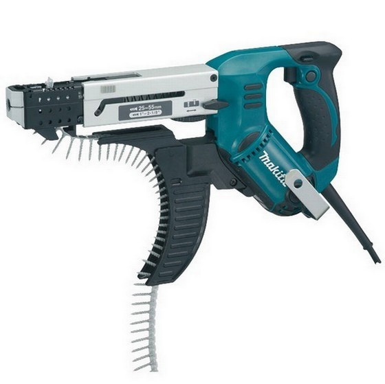 MAKITA 6843 AUTOFEED SCREWDRIVER 55MM 240V