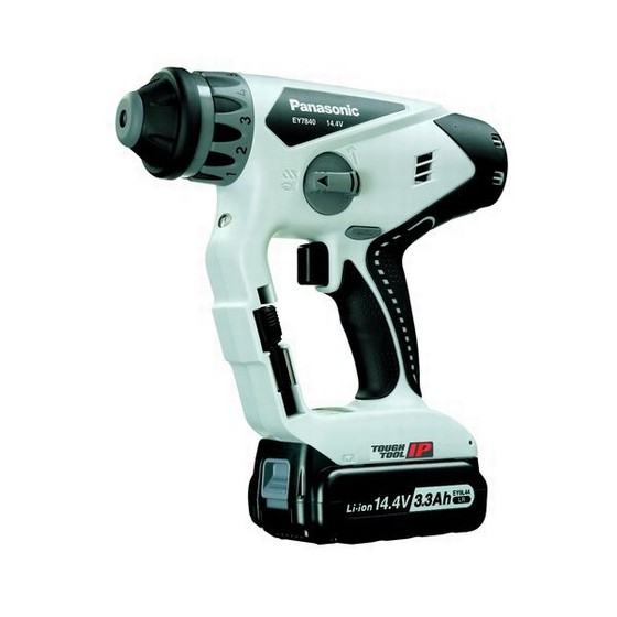 PANASONIC EY7840LR2S 14.4V LITHIUM-ION SDS DRILL DRIVER 2 X 3.1ah Li-ion BATTERIES
