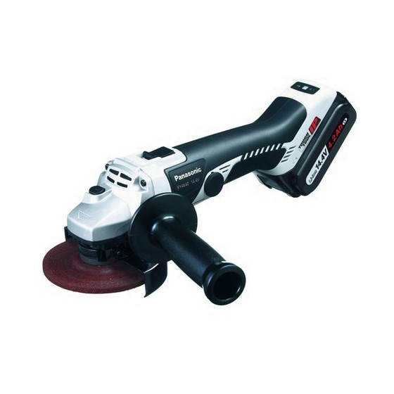 PANASONIC EY4640LR1S 14.4V LITHIUM-ION 115mm MINI GRINDER SUPPLIED WITH 1 X 3.3ah Li-ion BATTERY