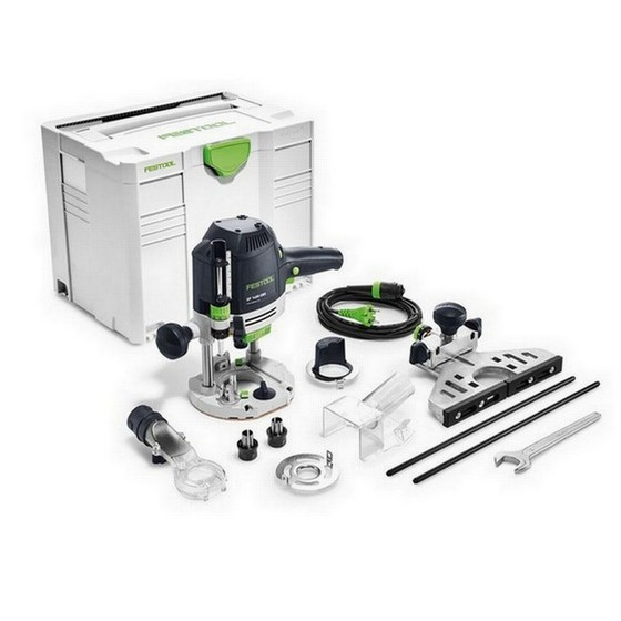 FESTOOL 574344 OF1400 EBQ-PLUS 1/2IN ROUTER 110V SUPPLIED IN T-LOC SYSTAINER CASE