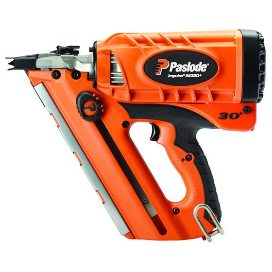PASLODE IM350+ 1st FIX NAILER (NO BATTERIES) INCLUDES IN CAR CHARGER WITH 63MM & 75MM HANDY PACKS