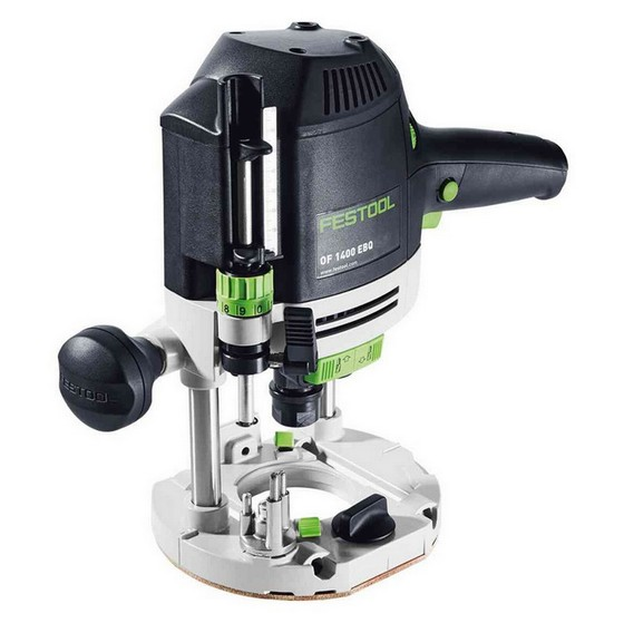 FESTOOL 574345 OF1400 EBQ-PLUS 1/2IN ROUTER 240V SUPPLIED IN T-LOC SYSTAINER CASE