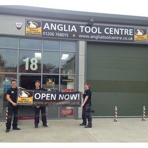 Anglia Tool Centre Colchester Showroom now open