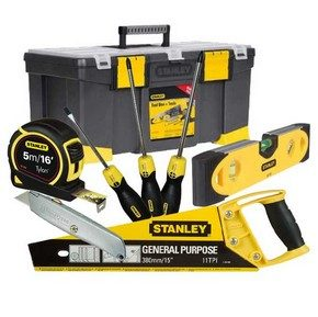 Free Stanley Tool Kit worth £50 with selected Dewalt Twin Packs