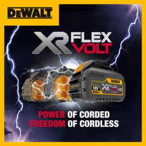 Dewalt Flexvolt Demonstration Days