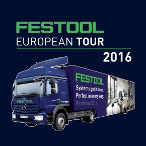 Festool Truck Tour at our Brierley Hill Showroom