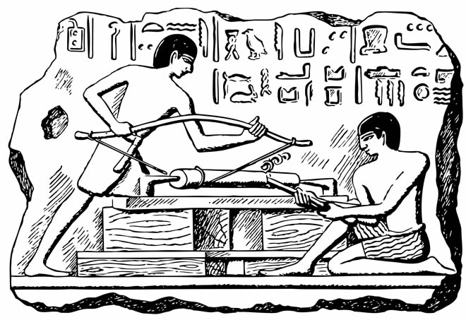 Ancient Egyptian Power Tools
