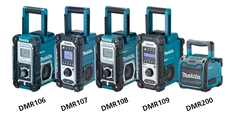 How to choose the right makita radio for you anglia tool - Radio makita dmr108 ...