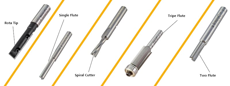 Straight Router Cutters
