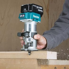 Product review: Makita DRT50 18v Cordless Router