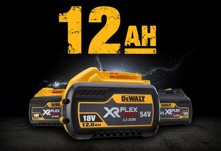 DeWalt 12Ah Battery - Coming Soon - Anglia Tool Centre