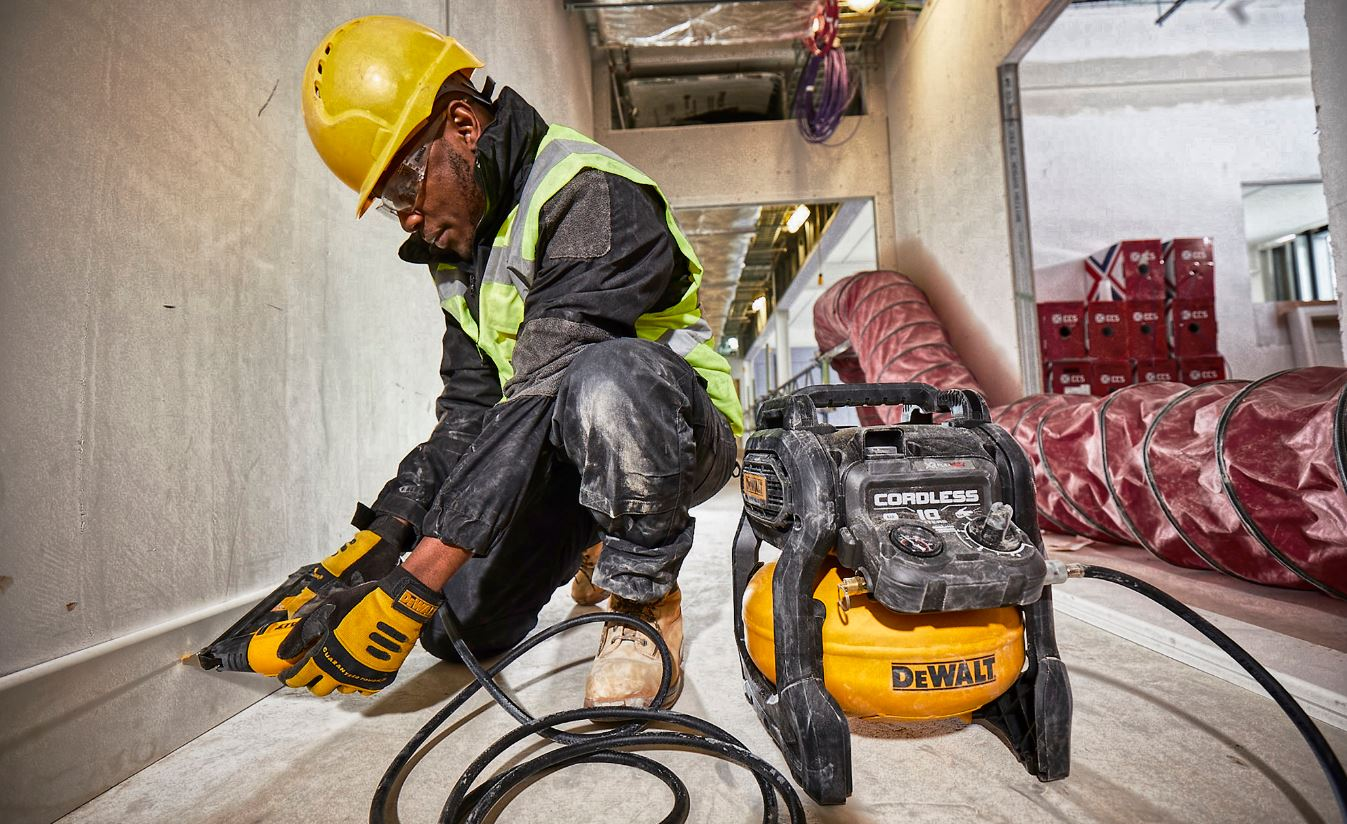 Dewalt Air Compressor Application