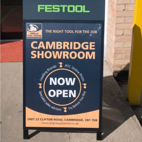 ATC Cambridge showroom nominated for Tool Showroom of the Year