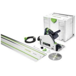 Festool TS 55 R plunge saw, perfect for straight and clean cuts