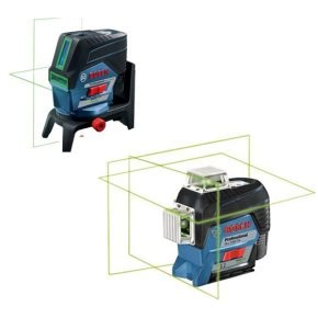 Accurate measuring and levelling with the new Bosch cross line lasers
