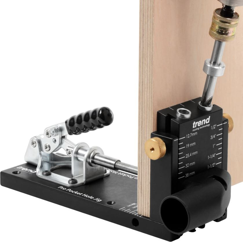 The Trend Pocket Hole Jig, Perfect For Woodworkers And