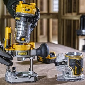 Dewalt cordless router, now available