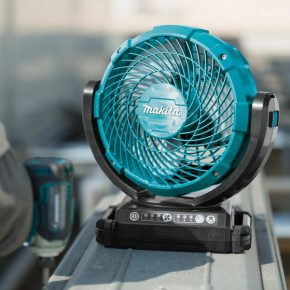 Makita portable fans: stay cool on the jobsite