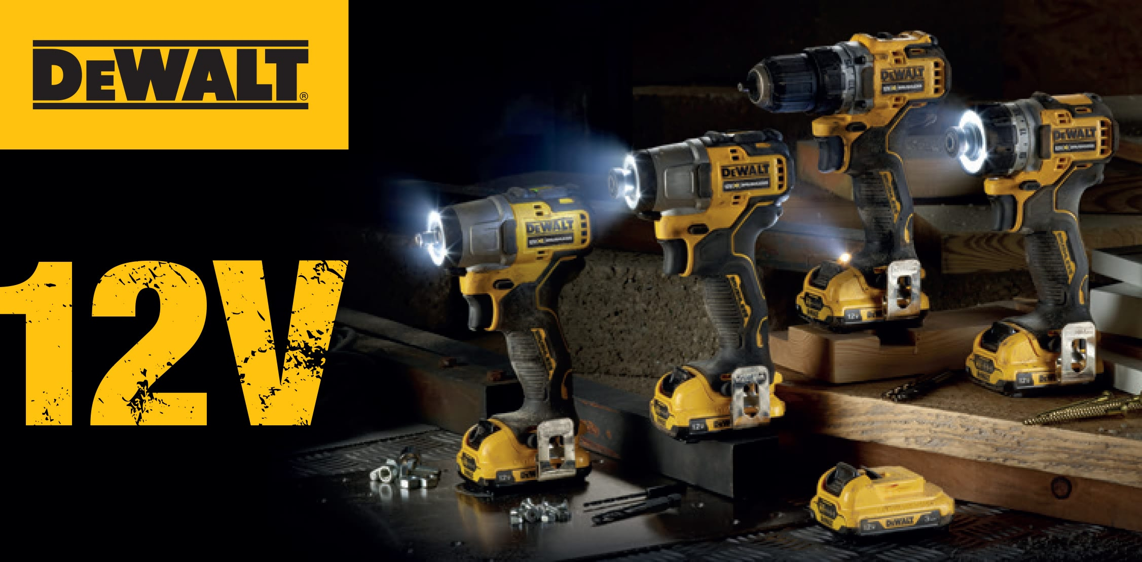 Dewalt 12v power tools