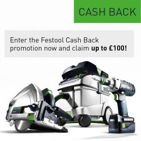 Festool Cashback Promotion Deals!