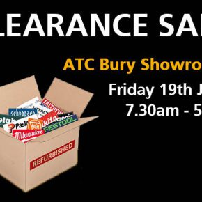 Bury Clearance Day, 19th July – featuring fantastic deals!