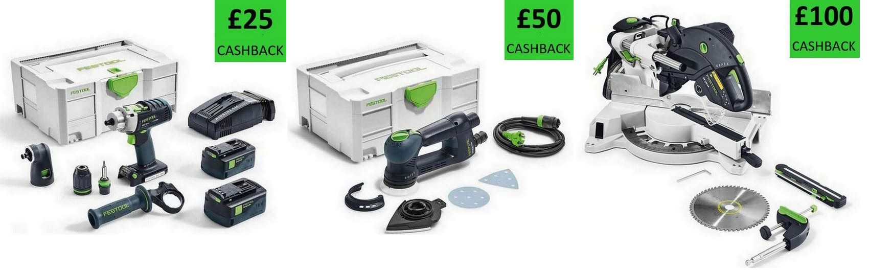 Festool cashback deals