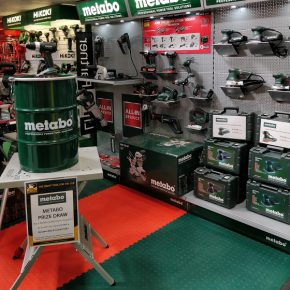 Metabo prize draw at ATC Colchester this August, enter now