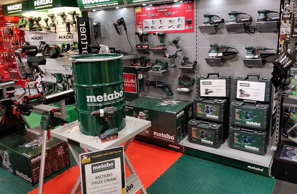 Metabo Prize Draw