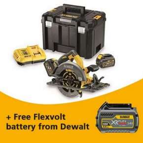 Free Dewalt Flexvolt battery – get yours now!