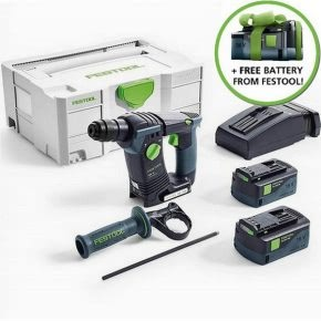 Festool free battery promotion – redeem yours!