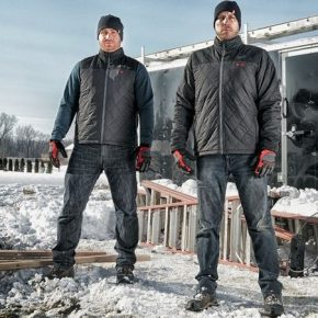 Milwaukee heated jackets, for staying warm this winter