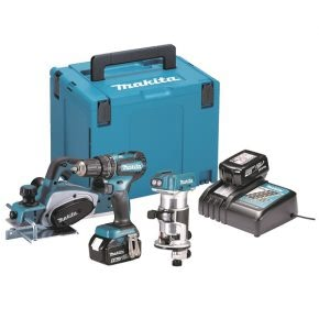 Makita woodworking kit, ideal for professionals and DIY hobbyists