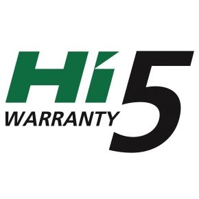 Up high with HiKOKI Hi5! 5 year warranty now available