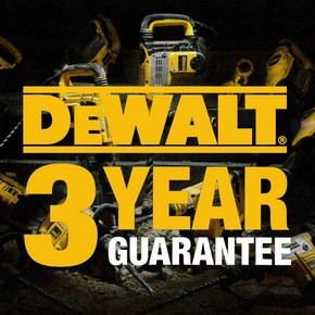 Dewalt extend 3 year guarantee across more products
