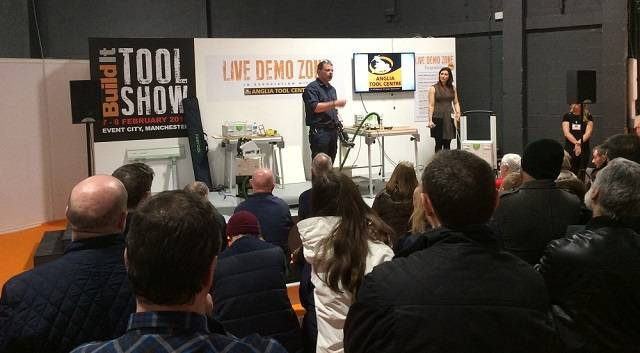 Live demonstrations from Build It Tool Show 2015