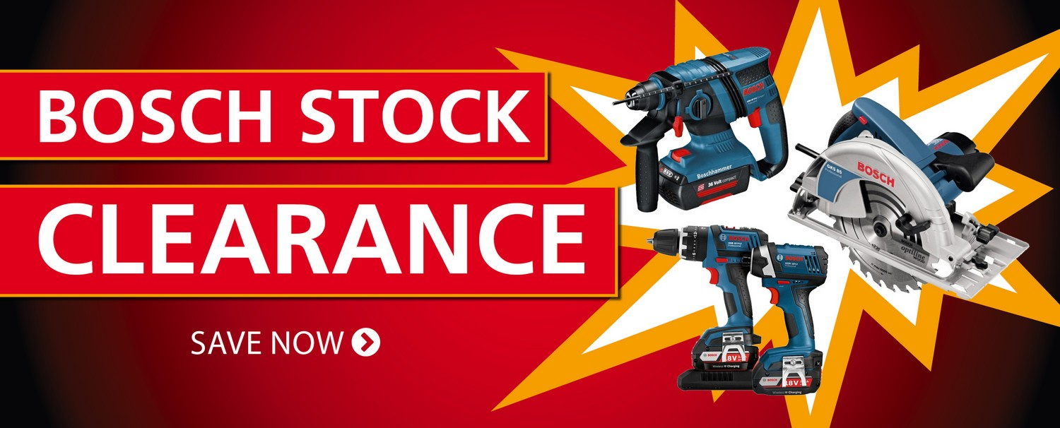 BOSCH CLEARANCE SALE