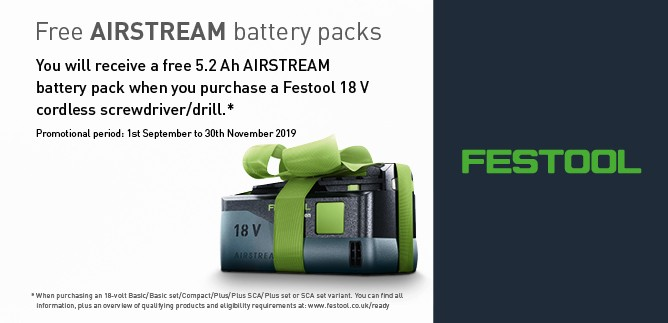 Festool Free Battery, shop now