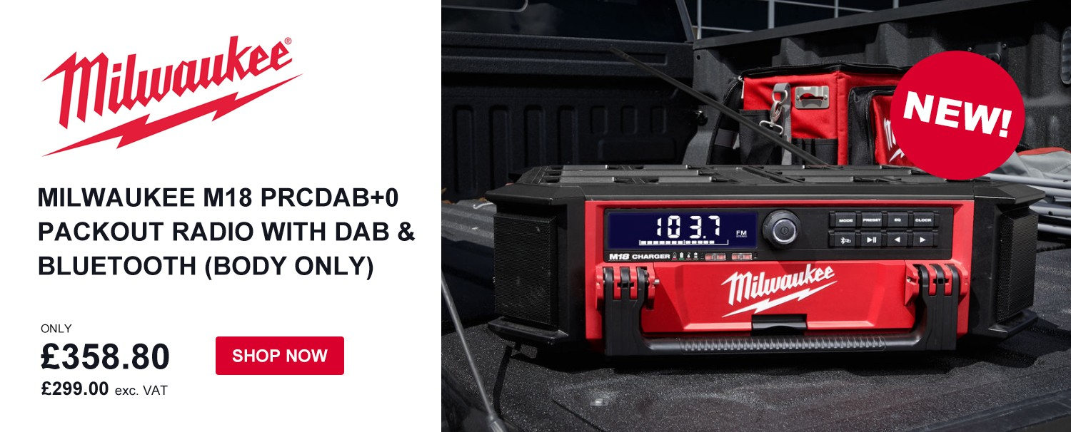 Milwaukee Packout Radio - buy now