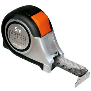 BAHCO MTS525E TAPE MEASURE 5 METRE STAINLESS STEEL