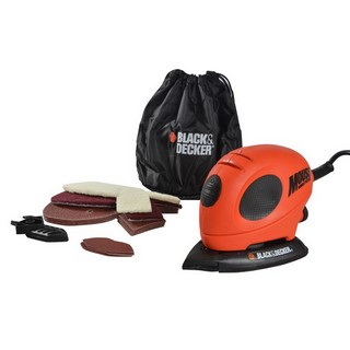BLACK & DECKER 55W MOUSE DETAIL SANDER WITH SANDING SHEETS