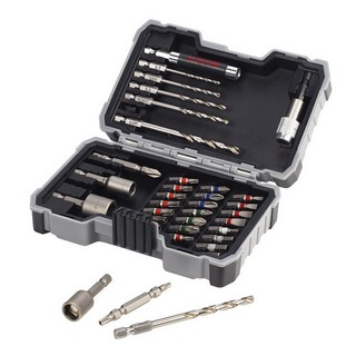 BOSCH 2607017328 HSS-G 35 PIECE DRILL AND SCREWDRIVER BIT SET