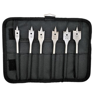 BOSCH 2608587793 6 PIECE SELF CUT FLAT DRILL BIT SET