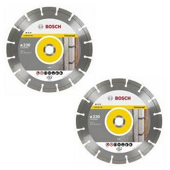 BOSCH 2608602195 TWIN PACK DIAMOND DISCS 230MM