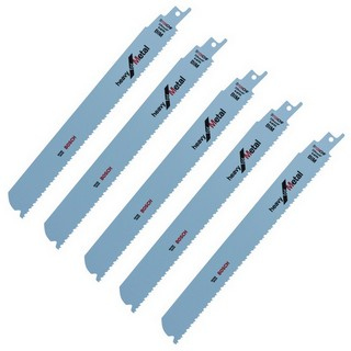 BOSCH 2608657398 THICK SHEET METAL BLADES (PACK OF 5)