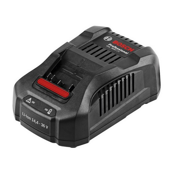 BOSCH GAL3680CV 36V BATTERY CHARGER 240V