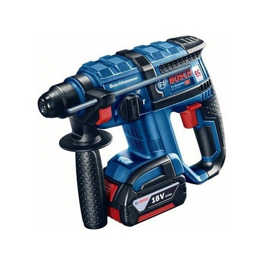 BOSCH GBH18VEC+GSB182LI 18V COMBI TWIN PACK WITH 2X 3.0AH LI-ION BATTERIES IN CARRY BAG