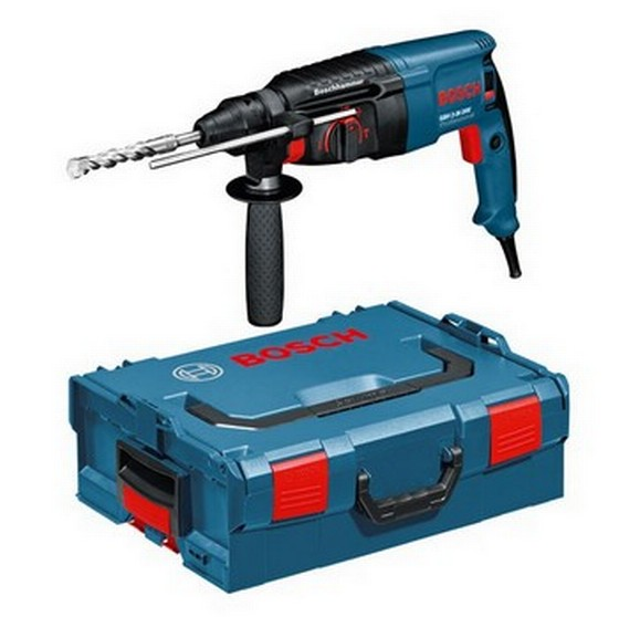 BOSCH GBH2-26DRE SDS+ HAMMER DRILL 110V IN L-BOXX CASE